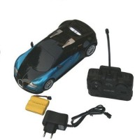 Rey Hawk Famous Car Bugatti Full Function Rechargeable 1:12 Scale R/C Car (Blue)