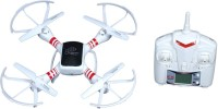 PRASIDH Long Range I-Drone 1.0 Quadcopter With Camera X -Drone Scout 6 Axis Gyro - White (Red)