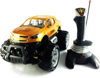 KBnBS Joystick Controlled Off-Road Monster Car Bigfoot SUV (Real High Torque) (Copper)