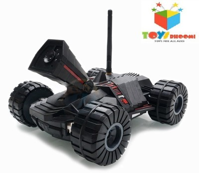 Bhoomi 4CH Wifi RC Video Detective Spy Car w/Camera at Rs.3999