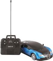 Scrazy Blue Bugatti Rechargble Remote Control Car (Blue, Black)