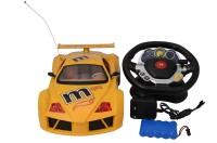 VTC Famous Race Steering Control Car (Yellow)
