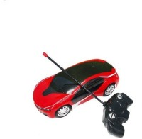 Rey-Hawk Remote Control Rechargeable Famous Car 3D Led Light- Red (Red)