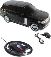 Fantasy India Remote Control Rechargeable Gravity Sensor R/C Toy Car With Steering (1:16) (Black)