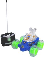 Scrazy Super Aliens Stunt Car With Light And Music (Blue)