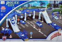 Fantasy India City Police Track Set Toy (Multicolor)