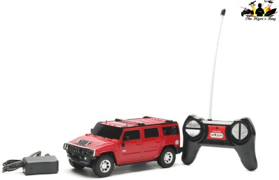 The Flyer's Bay R/C 1:24 Hummer H2 SUV - Red