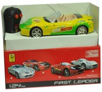 New Pinch Remote Control First Leader Racing Car Open (Multicolor)
