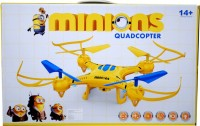 Montez Minions Drone Quadcopter Headless Mode 2.4ghz (yellow)