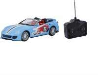 Emob Remote Control Fully Loaded Blue Sport Car Model For Kids (Multicolor)