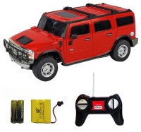 Soni R/C 1:24 Hummer H2 SUV (Red)