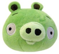 Angry Birds Plush 5-Inch Piglet With Sound (Multicolor334)