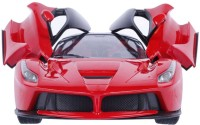 The Flyer's Bay Rechargeable Ferrari Style RC Car With Fully Function Doors (Red)