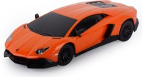 Toyhouse 1:24 Lamborghini Aventador Lp720-4 W Gravity Sensor Steering Rechargeable Rc Caro (Orange)