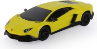 Toyhouse 1:24 Lamborghini Aventador Lp720-4 W Gravity Sensor Steering Rechargeable Rc Cary (Yellow)