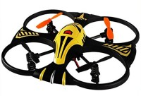 Shopcros 2.4 Ghz Control With 4.5 Channel & 3-Axis Gyro Stabilizer Defender Drone (Yellow) (Yellow)