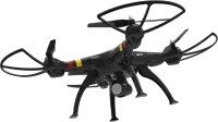 Gift World Syma X8C Venture With 2MP HD Wide Angle Camera 2.4G 4CH RC Quadcopter Drone (Black)