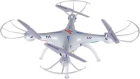 Toyhouse Explorers Drone X5SW With HD CAMERA & WIFI Upgraded 2.4G GYRO 4 CH Quadcopter, White (White)