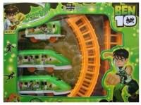 Toyoz Ben 10 Kid Train Set (Peach, Chic White)