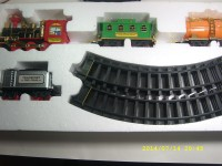 Trifoi Real Train Set Emits Smokes (Multi Color)