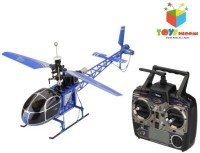 Toys Bhoomi 2.4G 4CH Large Size RC Lama Helicopter (Blue)