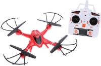 Toys Bhoomi 3D Roll Auto Return Headless Mode Professional Quadcopter - 2.4G 4 Channel 6-Axis Gyro (Red)