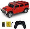 Shopcros R/C 1:24 Hummer H2 SUV - Red