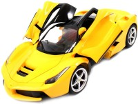 The Flyer's Bay Rechargeable Ferrari Style RC Car With Fully Function Doors (Yellow)