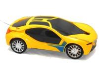 Premk Magic 3d Lights Sports Car (Yellow)