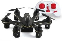 Building Mart 2.4G 4 Channel 6-Axis Gyro Nano Hexacopter - World's Smallest (Black)