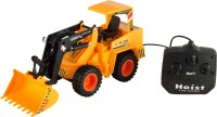 Walk Over Totally Toys Excavator Super Truck (Yellow)