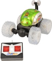 Turban Toys REMOTE CONTROL STUNT CAR (Green)