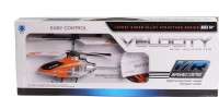 Toy Slam 3.0 Channel Velocity Helicopter (Multicolor)