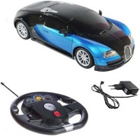 Reyhawk Bugatti Gravity Sensor Car With Steering - Blue & Black (Blue, Black)