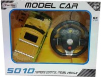 PremK Red 1:16 Scale Remote Control Hummer Car - Yellow (Yellow)