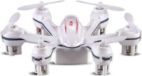 Building Mart 2.4G 4 Channel 6-Axis Gyro Nano Hexacopter - World's Smallest (White)