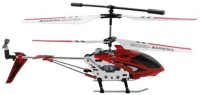 Tickles 3.5CH IR RC Flying Helicopter Battery Operated Toy For Kids (Red)