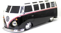 Maisto VolksWagen Van Samba 1:24 Radio Controlled Scale Model (Black)