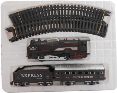 A R Enterprises Remote Control Toys A R Enterprises Black Battery Operated Train With Head Light