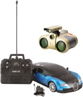 New Pinch R/C Model Car With Binocular Toy (Multicolor)