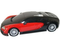 Littlegrin RC Bugatti Remote Control Car Scale Model 1:16 With Charger Gift Toy For Kids (Red)