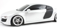 HPD HPD Audi A8 Full Function Rechargeable 1:18 Scale Remote Control Car (White)