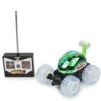 Shop & Shoppee Super Turbo Radio Control Racing Stunt Car (Green)