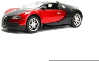 HPD Bugatti Veyron Full Function Rechargeable 1:16 Scale Remote Control Car (Red)