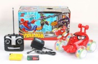 ToysBuggy Spiderman Remote Controlled Stunt Car (Red)