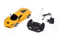Unica Modern Car 1:16 Remote Control Rechargeable Car (Yellow)