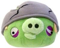 Angry Birds Plush 5-Inch Helmet Pig With Sound (Multicolor339)