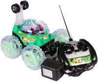 Fantasy India Remote Control Rechargeable Stunt Toy Car Big (Multicolor)