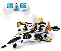 Toys Bhoomi F22 Raptor Styled 2.4g 4ch 6 Axis Rc Quadcopter With Led Light (Multicolor)