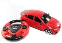 Toyzstation Steering Remote Radio Control Car (Red)